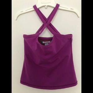 Purple Tank. Made in 🇨🇦 Yoga wear. One Tooth